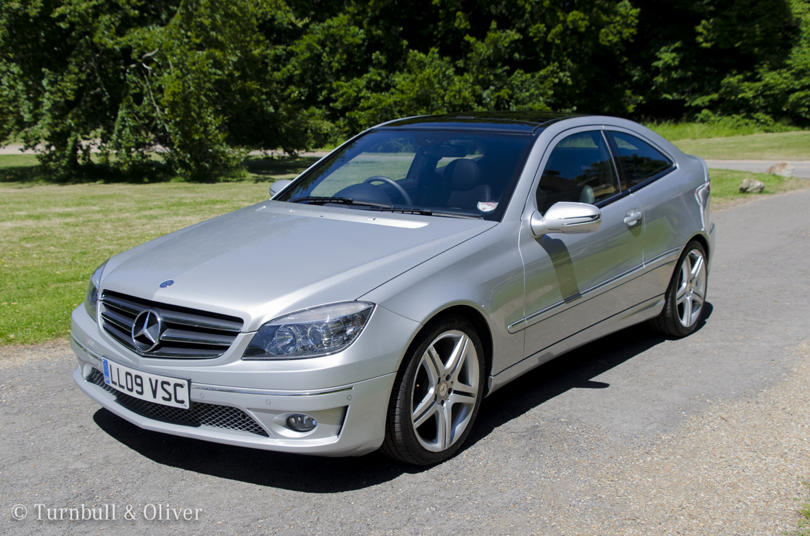 Mercedes benz c class clc coupe for sale turnbull oliver for Used mercedes benz cars for sale