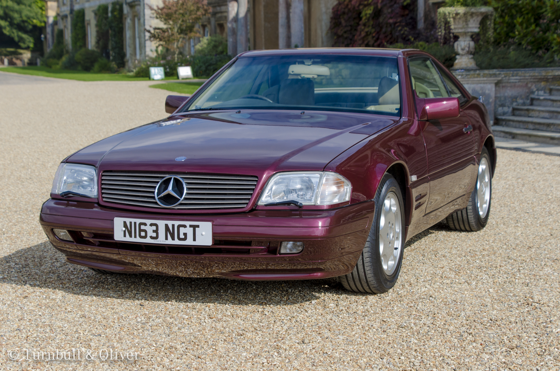 Mercedes Benz Sl320 Beautiful Burgundy Turnbull Oliver