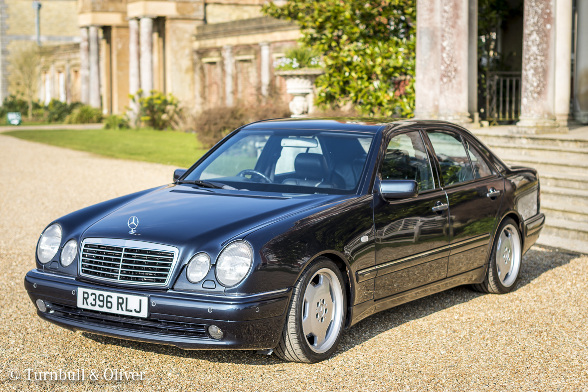 Mercedes benz e55 the v8 one turnbull oliver for Mercedes benz car sales