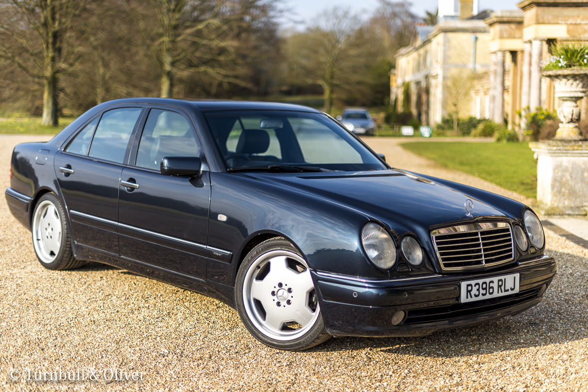 Mercedes benz e55 the v8 one turnbull oliver for Mercedes benz uk used