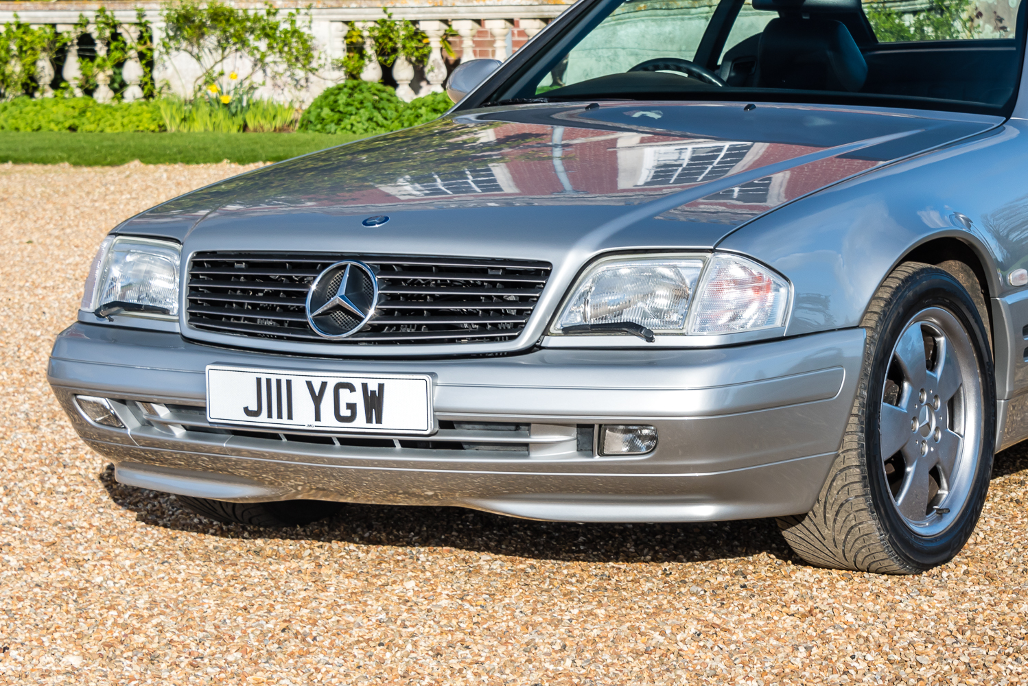 1999 mercedes benz sl320 stunning silver turnbull oliver for Used mercedes benz cars for sale
