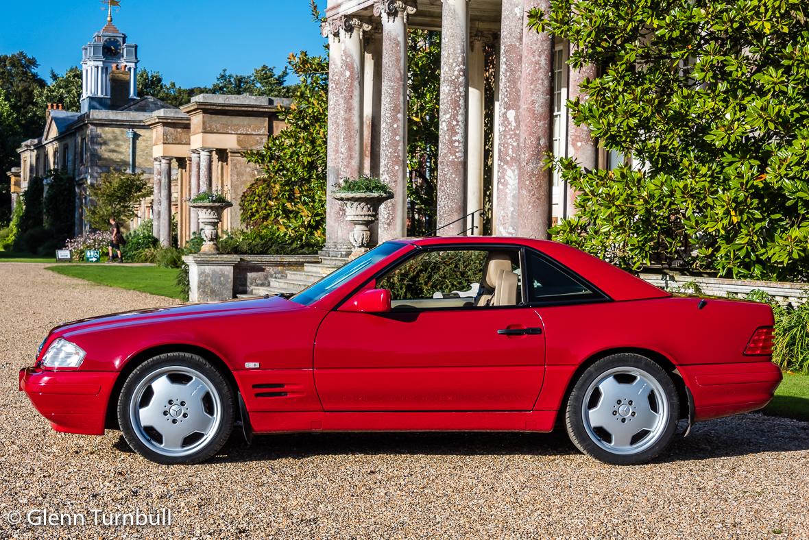 Red rocket mercedes benz sl500 turnbull oliver for Mercedes benz sl500 for sale
