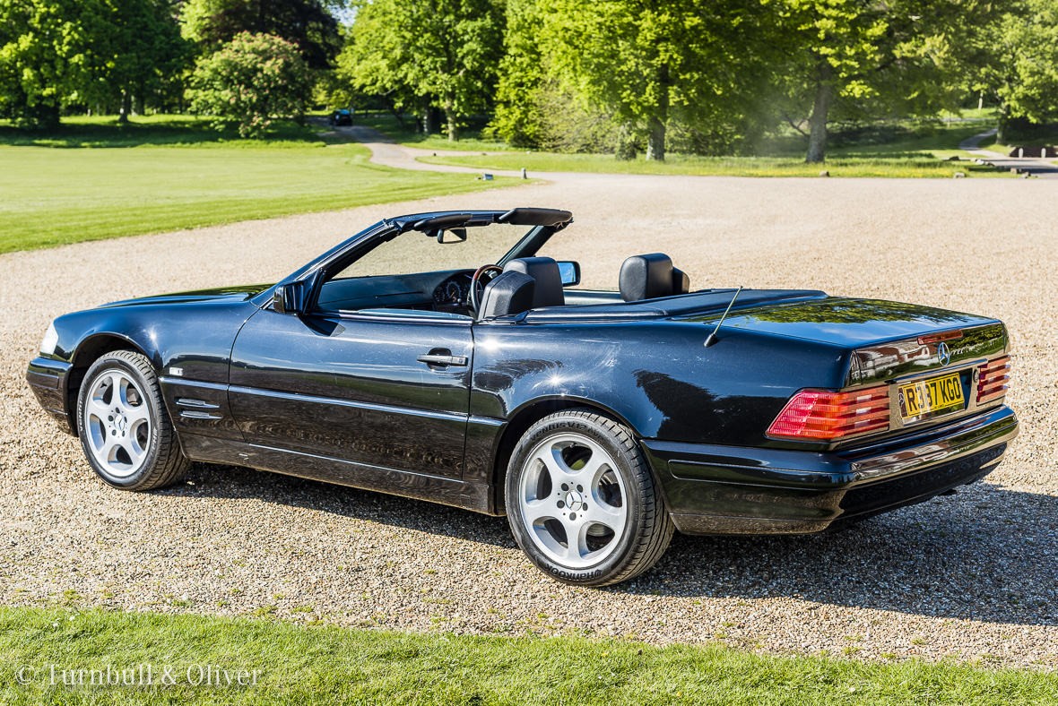 Mercedes benz sl320 for sale turnbull oliver for Mercedes benz owners